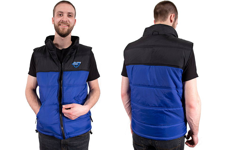 Freeze Defense Vest can be worn separate from the jacket