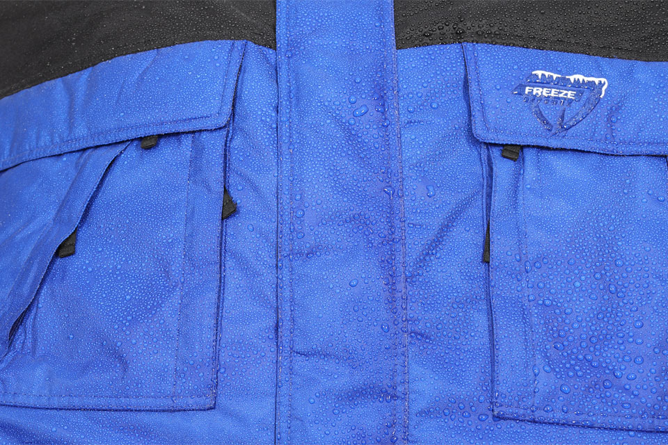 Freeze Defense Jacket is Water and Wind Resistant