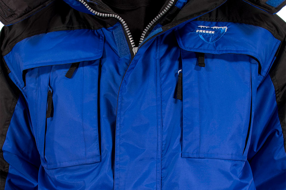 Freeze Defense 3-in-1 Winter Coat has 9 pockets on the front