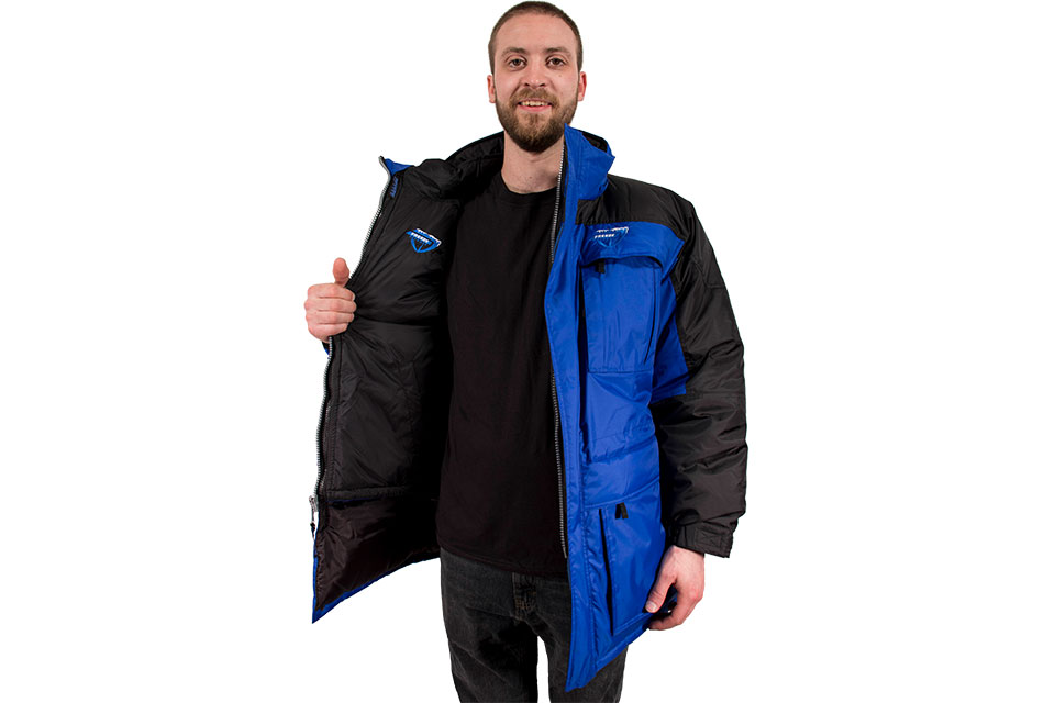 Freeze Defense Men's 3-in-1 Winter Jacket Opened