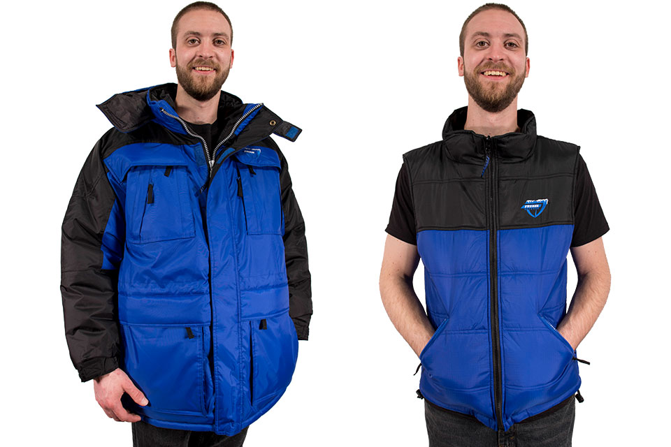 Freeze Defense 3-in-1 Winter Coat with Vest
