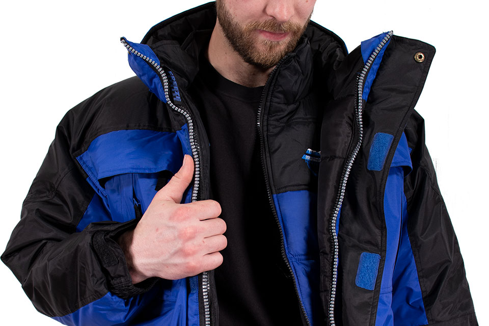 Freeze Defense 3-in-1 Winter Coat with Vest Unzipped Inside