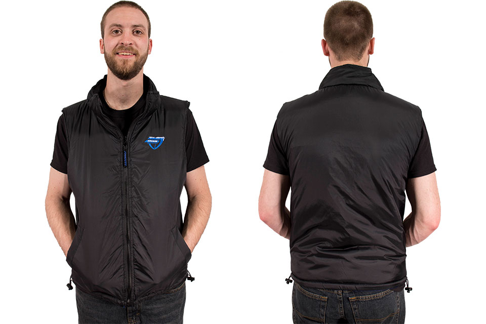 Freeze Defense vest is reversible to all-black