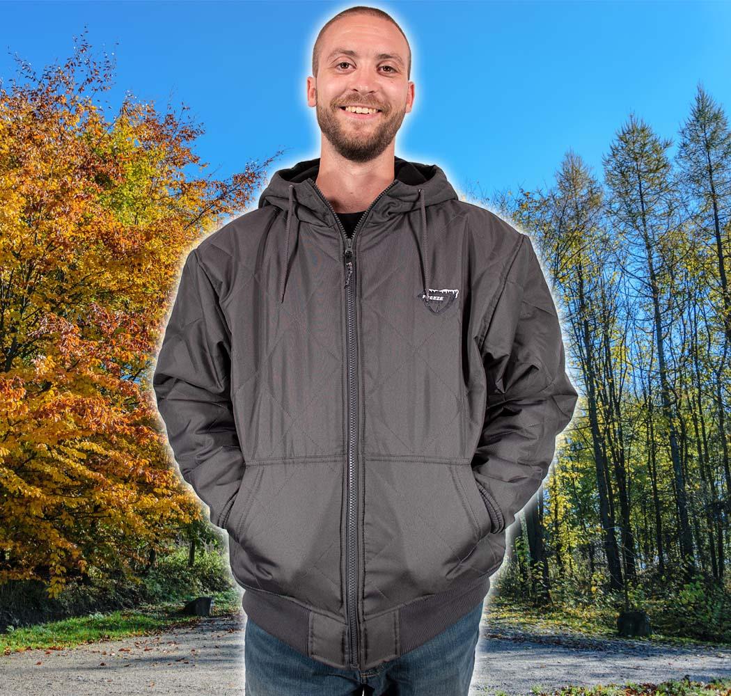 Freeze Defense Men's Quilted Jacket