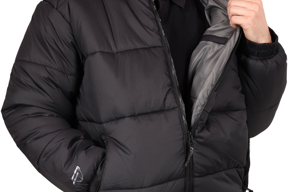 Freeze Defense Men's Puffer Jacket Opened Front