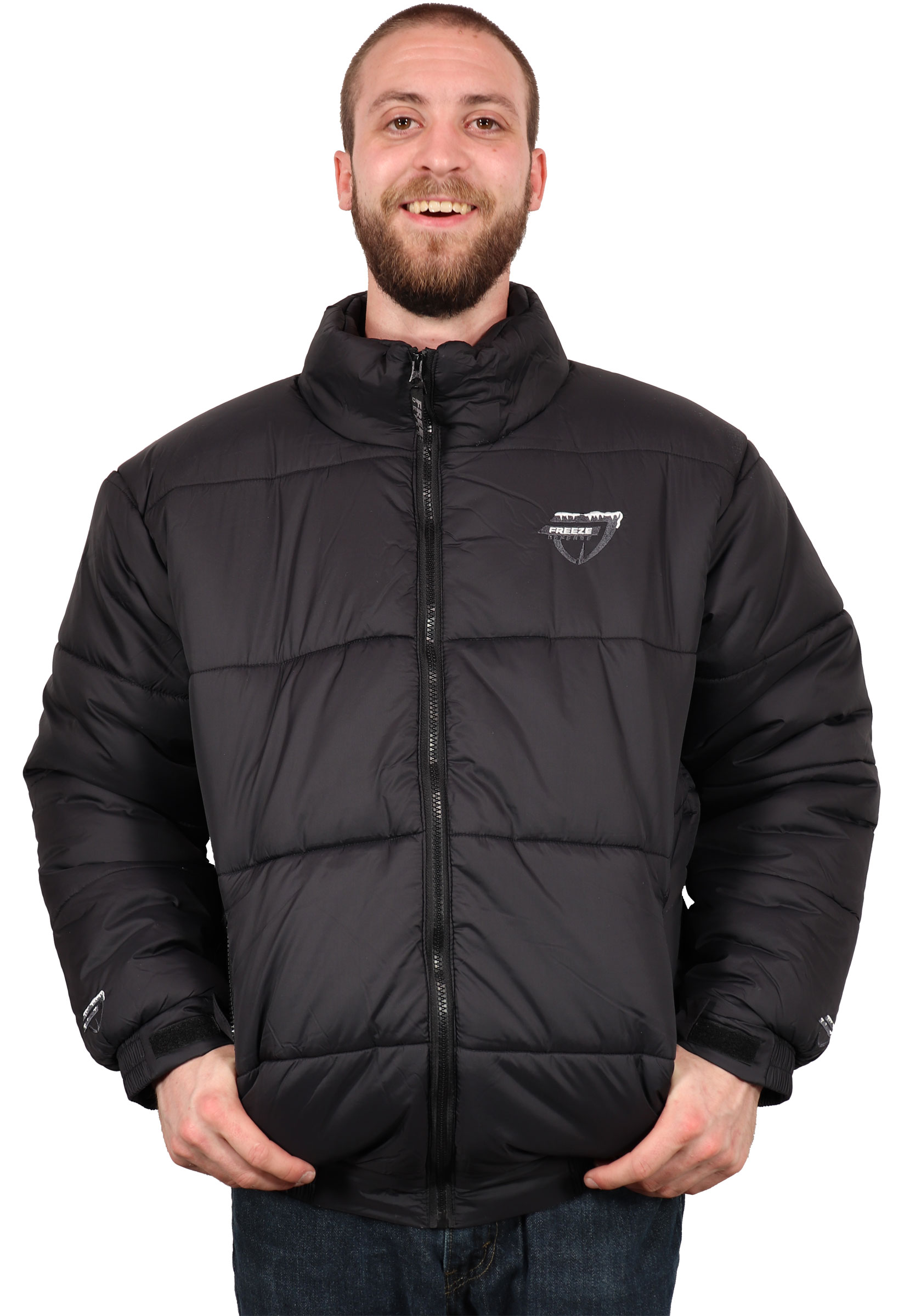 bc7065e4e5c2 Freeze Defense Men s Down Alternative Winter Jacket Coat. A classic style  puffer jacket that is ready to keep you warm in the cold.
