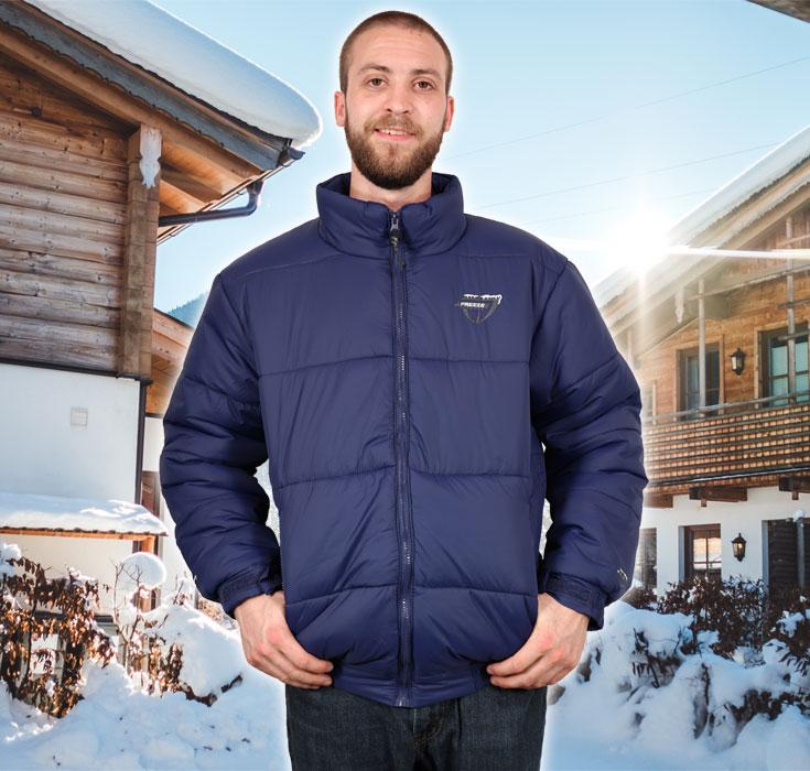 Freeze Defense Men's Down Alternative Winter Coat