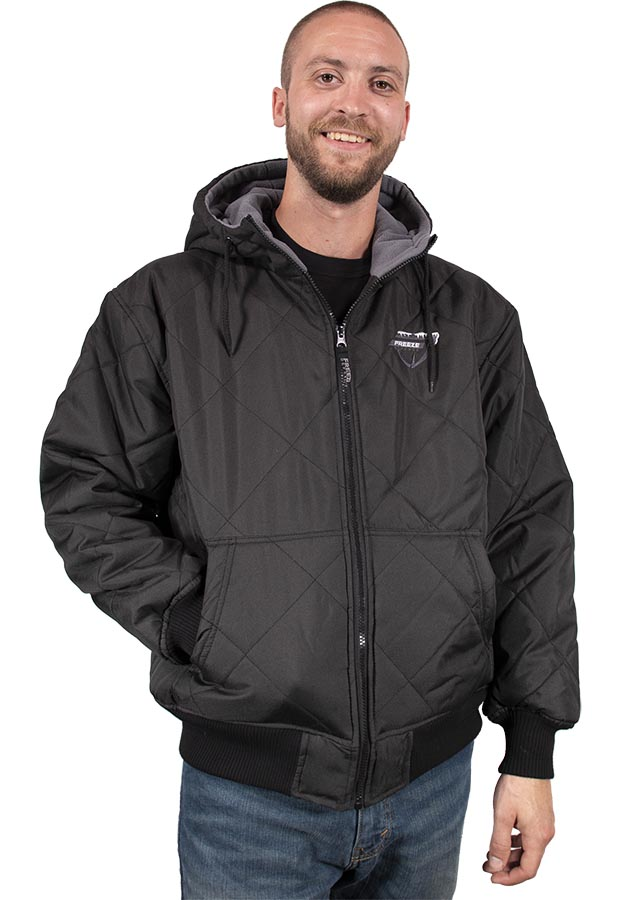 Freeze Defense Men's Quilted Fleece Jacket