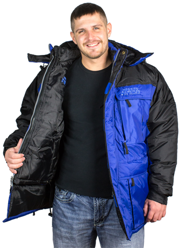 Freeze Defense Men's 3-in-1 Winter Coat