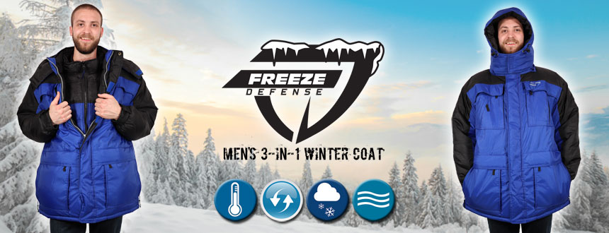 Freeze Defense Affordable Winter Jackets