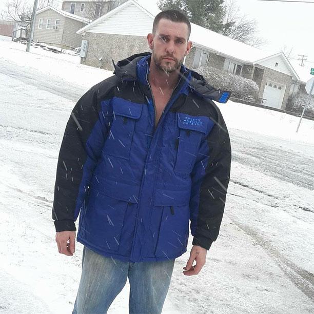 Keeping warm in snowy Ohio